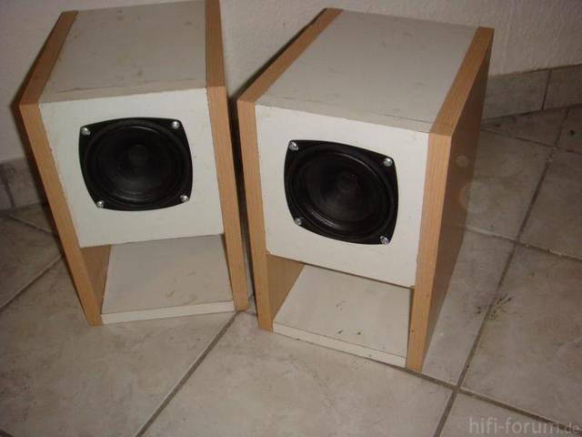 Box Mit Visaton FR10-4