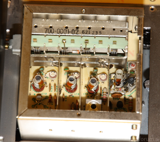 Accuphase T-101  -  Drehko