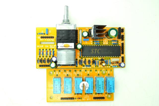 LITE-MV06-Six-Channel-Motorized-Remote-Volume-Control-Input-DIY-KIT
