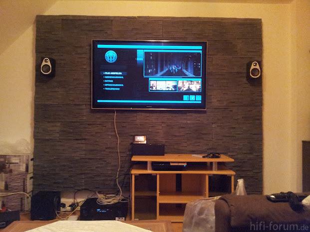 Tv an der wand tv wand hifi bildergalerie - Tv an der wand ...