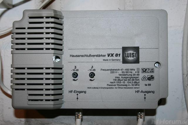 Wisi VX 81