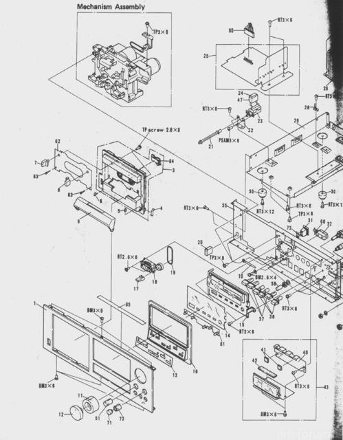 verzweiflung teildefektes pioneer tape deck u003e was soll ich damit rh hifi forum de 1967 Ford F850 Dump Truck Lifted F150