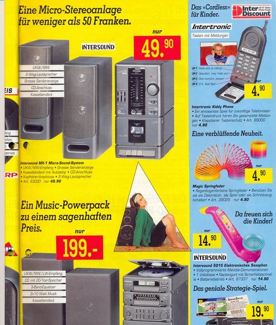 InterDiscount, März 1994