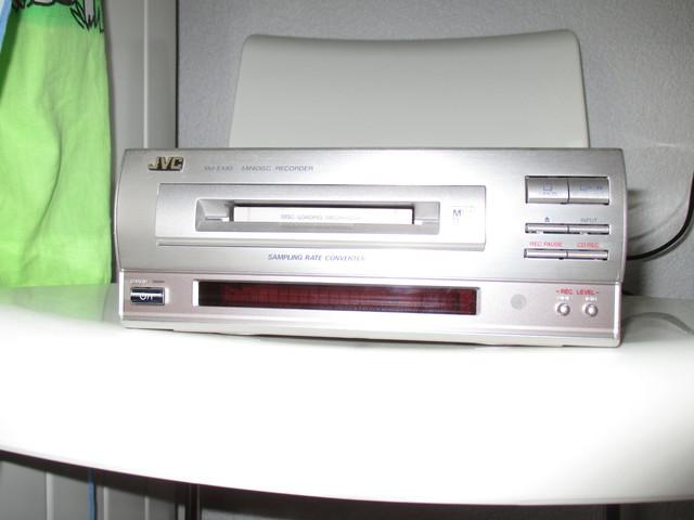 JVC XM-EX90 MiniDisc Recorder