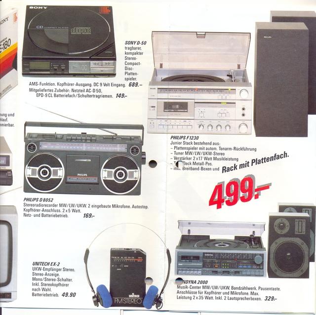 Kompaktanlage ca. 1986