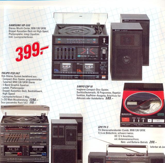 Kompaktanlage ca. 1987