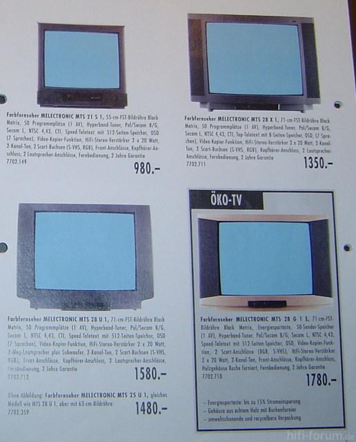 MEL TVs