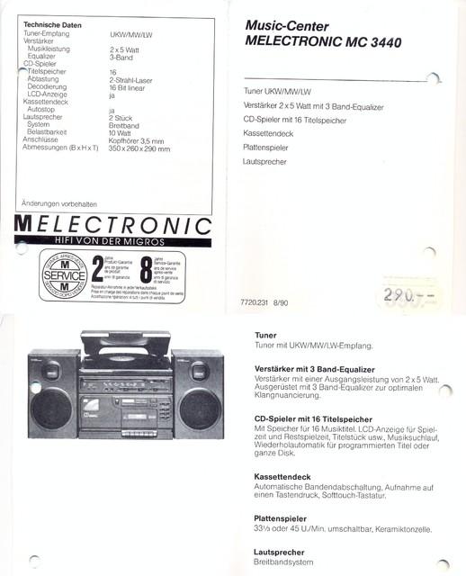 MELECTRONIC MC 3440