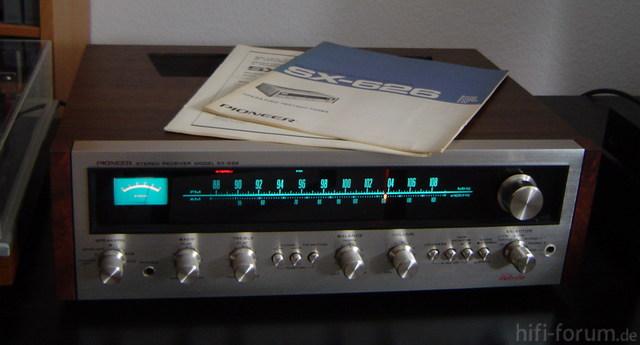 Pioneer SX-626 Manuals