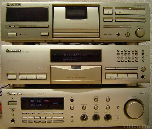 Pioneer SX-702RDS