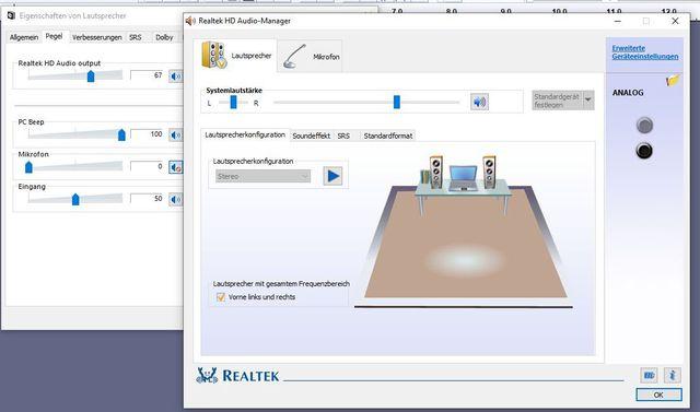Realtek Audio Manager LS