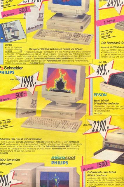 Schneider PC 1992