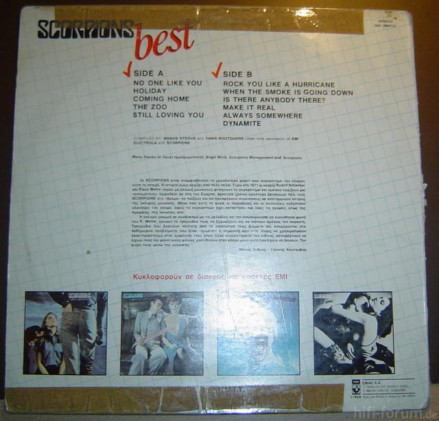 Scorpions Best & SL-18