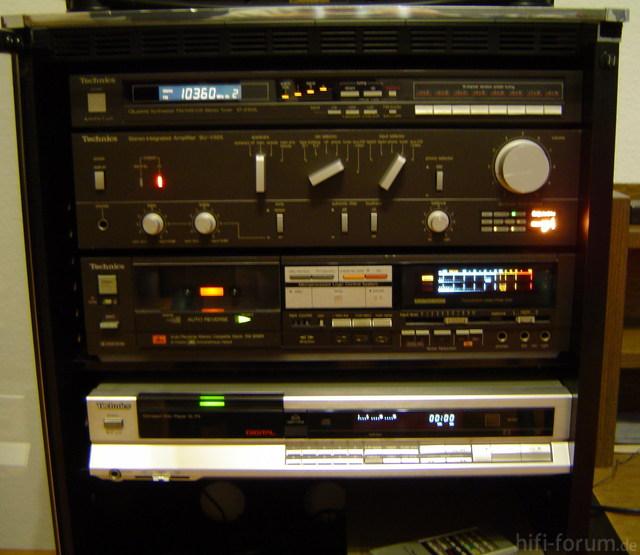 Technics-Anlage 1980er 1