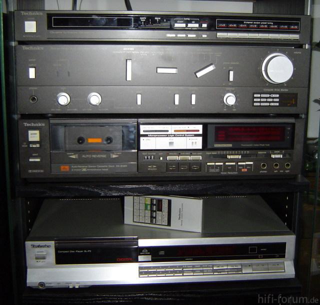 Technics-Anlage 1980er 2