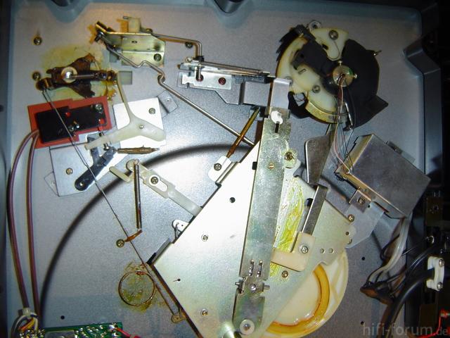Toshiba SR-F330 inside