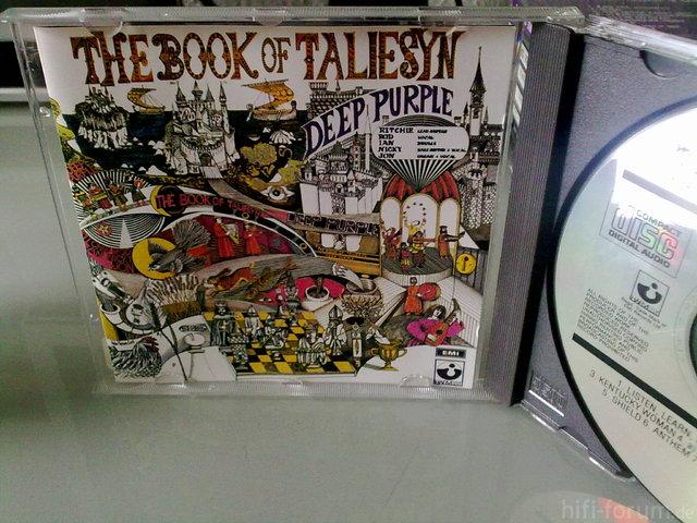 Deep Purple - The Book Of Taliesyn [1968/1989]