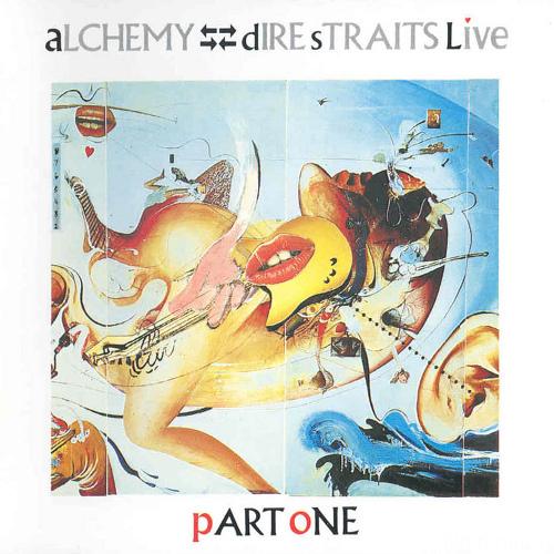 Dire Straits   Alchemy (Dire Straits Live   Part One)   Front