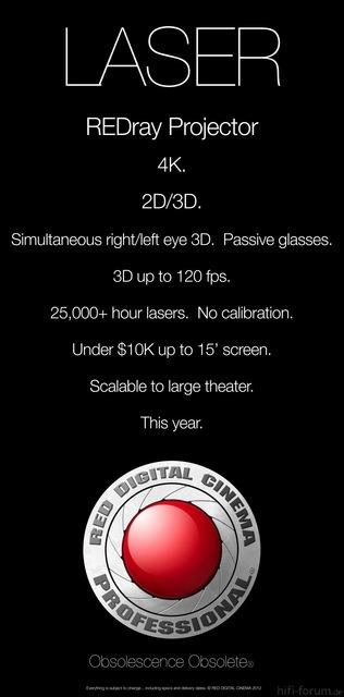 REDRay Projektor