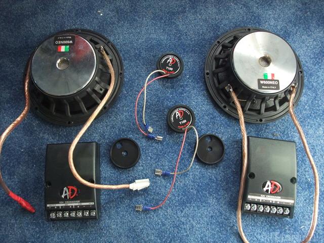 Audio Development  W600neo T100 X2V Weiche