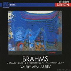 Afanassiev - Brahms