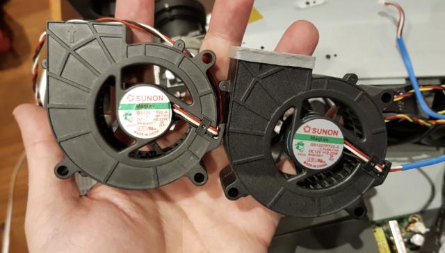 HD33 replacement fan