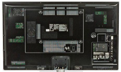 Rückseite Panasonic 50VT50E