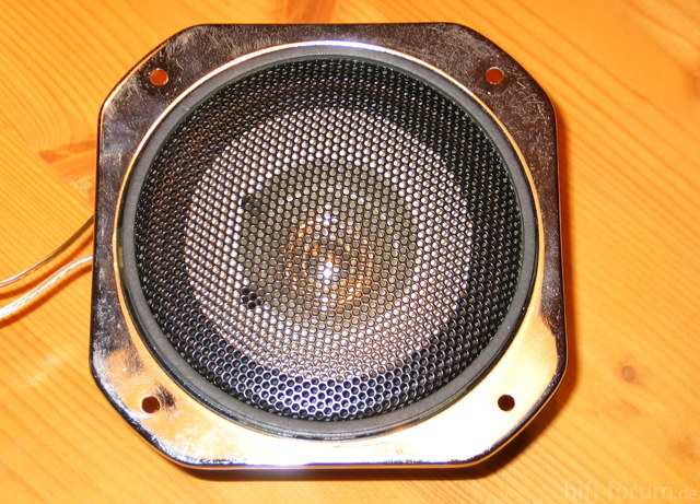 Lautsprecher Vorderseite