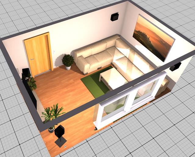 Wohnzimmer unauffällig akustisch oprimieren, Akustik - HIFI-FORUM