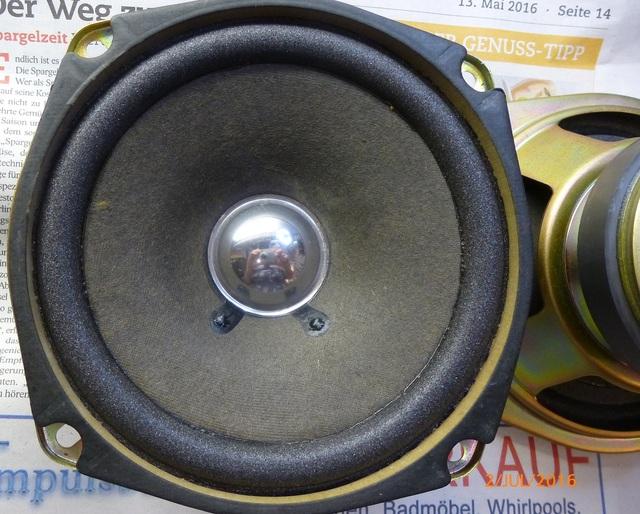 03 AIWA CS-880 reparierte Lautsprecher klein