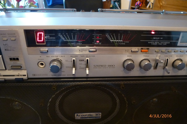 06 AIWA CS-880 VU-Meter klein