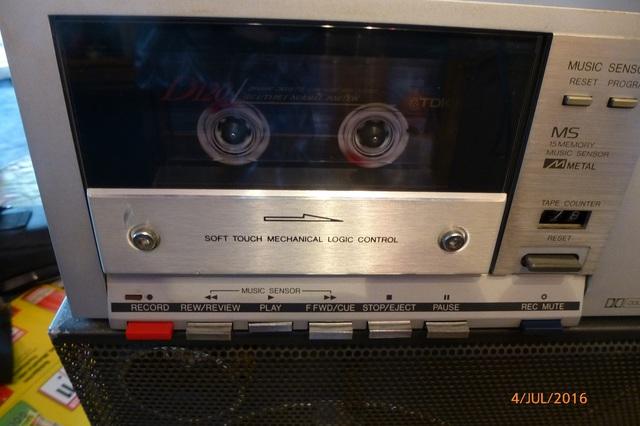 07 AIWA CS-880 Cassettenfenster klein