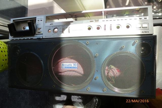 07 AIWA CS-880 Gehäusehälfte
