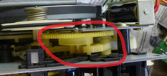 Detail Laufwerk AIWA CS-880