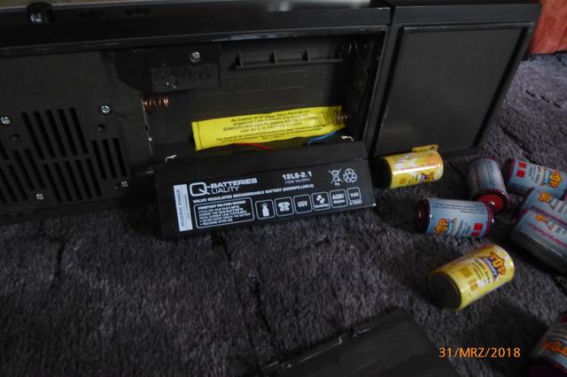 Telefunken HiFi Studio 1M Batterie (3)