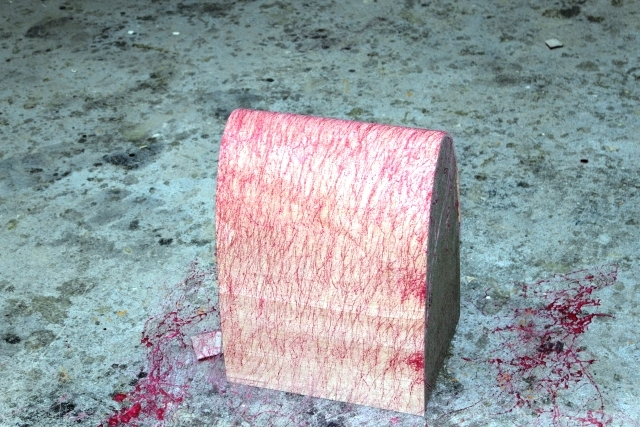 Erste Lage Biegsperrholz