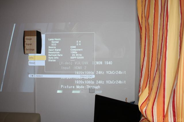 Mit 808 Epson Beamer BDP-9600