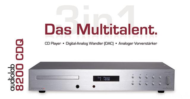 Audiolab 8200 Series