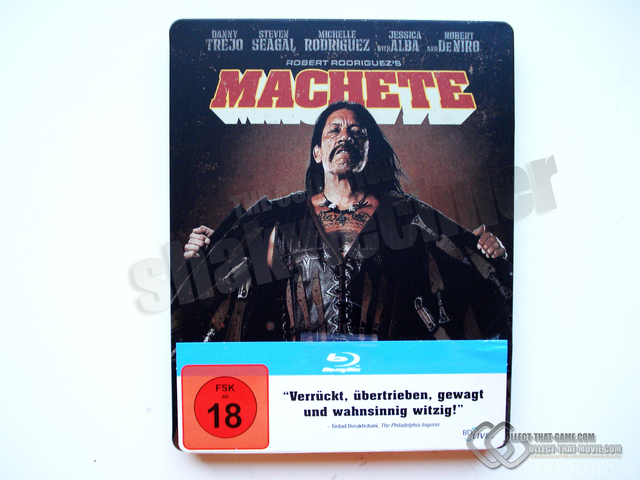 Blu Ray Machete Steelbook Front1