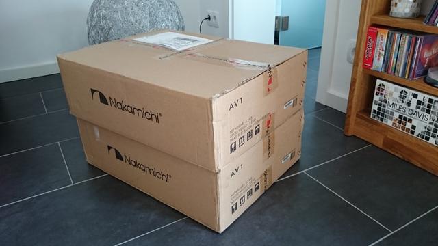 Nakamichi AV1 - unboxing