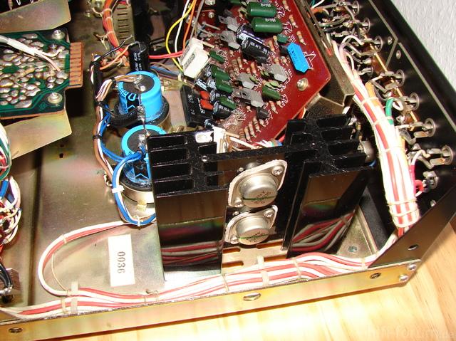 Sony TA-1140 Inside