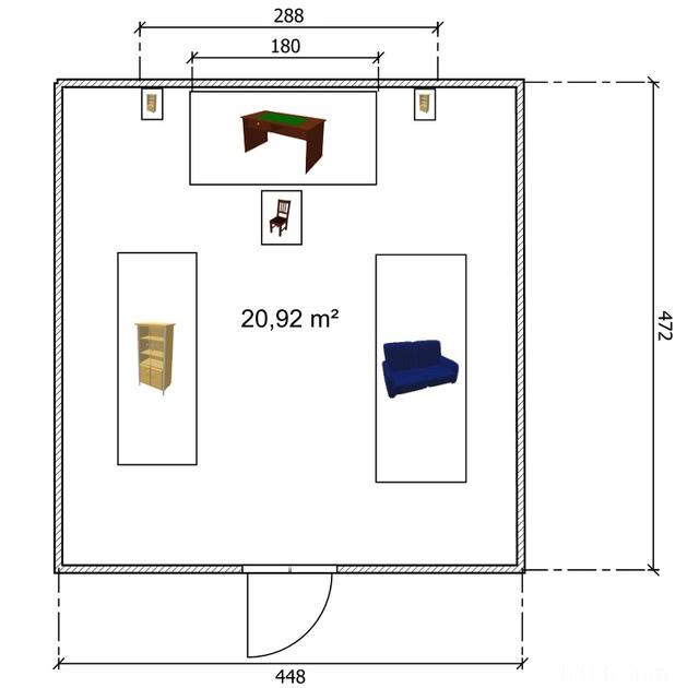 Plan Dachboden
