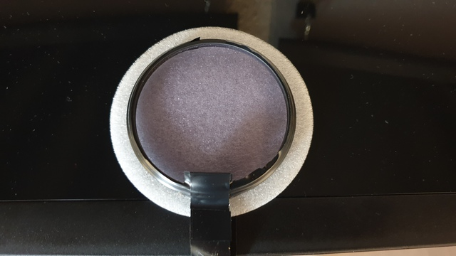 Filter Aufsicht Magentafarben