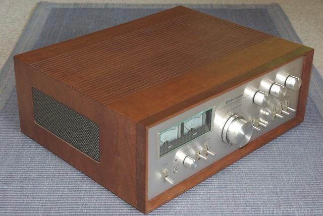 Kenwood KA-9100 Im Original-Woodcase