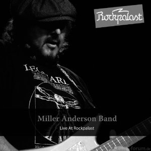 Miller Anderson - Live At Rockpalast -Cover