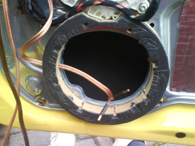 Einbau Frontsystem Ibiza 6L #32