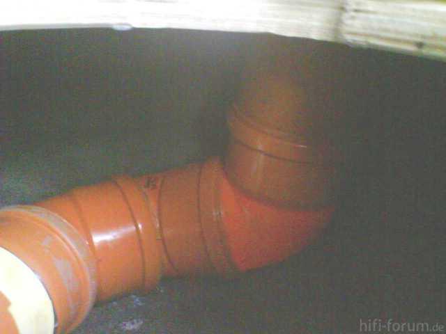 Reserveradmuldenausbau Ibiza 6L - Einbau BR-Rohr 1