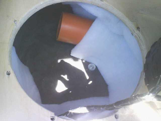 Reserveradmuldenausbau Ibiza 6L - Einbau BR-Rohr 4