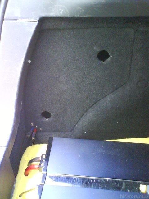 Reserveradmuldenausbau Ibiza 6L - Einbau Protovision 22