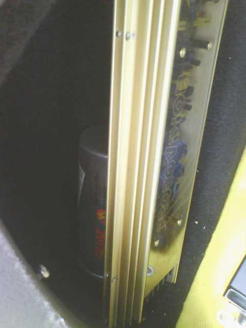 Reserveradmuldenausbau Ibiza 6L - Einbau Protovision 2